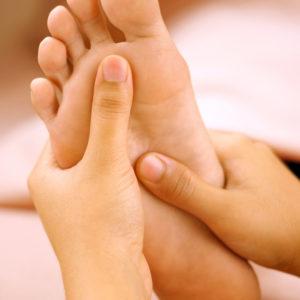 Частковий масаж ног