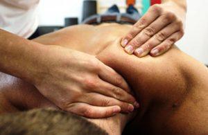 после массажа