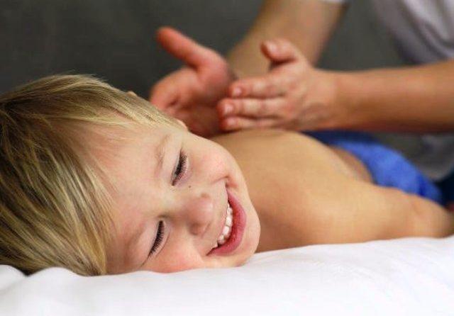 Детский массаж в Сваляве!