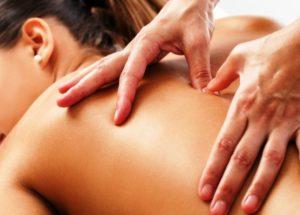 масаж хребта