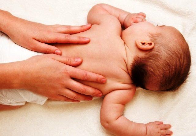 Масаж немовлятам в Сваляві!