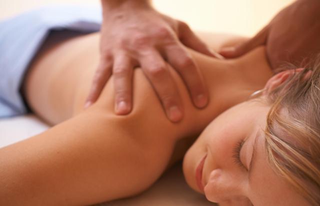 После масаж