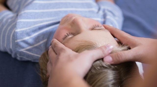 Точковий масаж для дітей