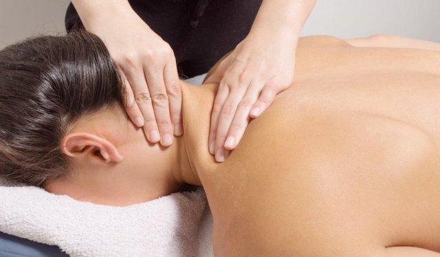 Масаж на остеохондроз шийного відділу хребта