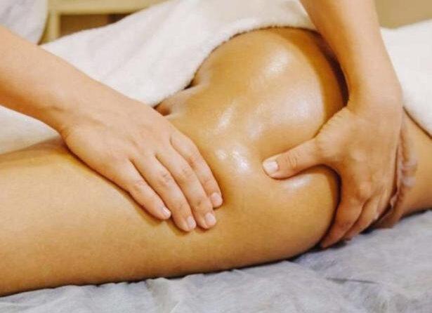Антицеллюлитный массаж на ноги