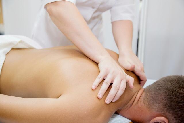 Сильный массаж для мужчины